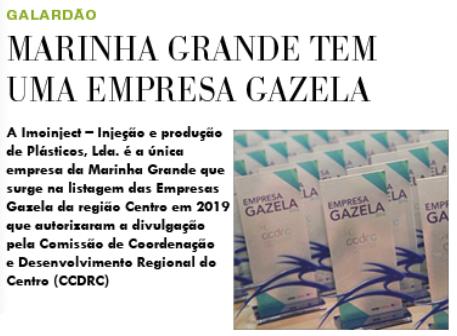 Reconhecimento como Empresa Gazela